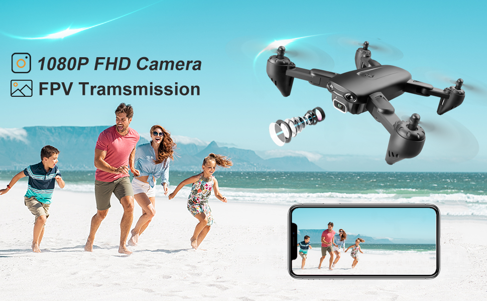 34b81f54 1799 4a30 aa84 4f59e651dfab.  CR0,0,970,600 PT0 SX970 V1    - 4DRC Drone with 1080P HD Camera, 2 Batteries and Carrying Case, FPV Live Video Camera,RC Quadcopter for Adults kids,with Auto Hover,3D Flip,Headless Mode,One Key Start,Waypoints Functions