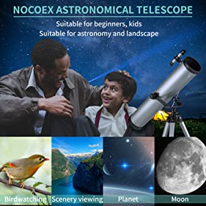 3a6c45db 2c75 4e91 82a9 1ec615e2bc63.  CR0,0,1500,1500 PT0 SX300 V1    - Astronomical Telescope for Kids and Astronomy Beginners, 700mm/76mm Starter Scope Good Partner to View Landscape and Planet, with Tripod, Wire Shutter, Phone Adapter