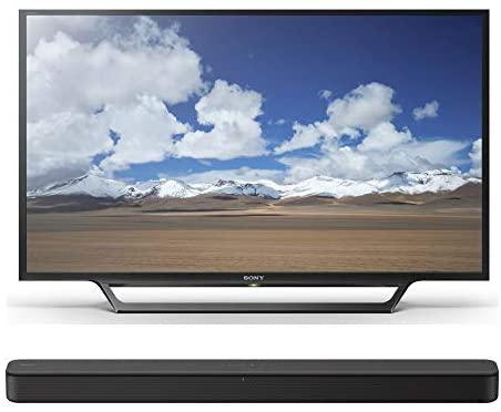 416ZzMsEI0L. AC  - Sony KDL-32W600D 32-Inch Class HD Smart TV HT-S100F 2.0ch Soundbar