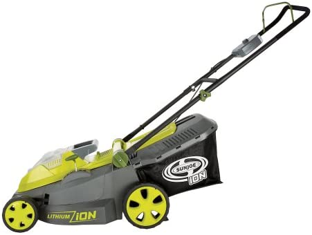 41JDnthveL. AC  - Sun Joe ION16LMCT iON16LM-CT 40-Volt 4.0-Amp 16-Inch Brushless Cordless Lawn Mower, Tool Only