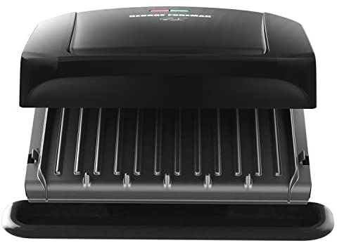 41Og+doOCOL. AC  - George Foreman 4-Serving Removable Plate Grill and Panini Press, Black, GRP1060B