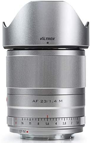 41Tf8vIYO L. AC  - VILTROX 23mm F1.4 EF-M Mount STM Autofocus Lens, f/1.4 Large Aperture APS-C Lens Compatible with Canon EOS-M Mount M10 M100 M3 M5 M50 M6 M60 II