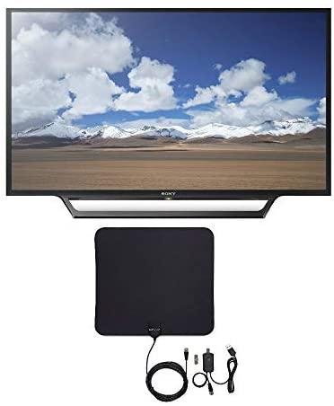 41VF21ZcGeL. AC  - Sony KDL32W600D 32-Inch Built-in Wi-Fi HD TV with Knox Gear Ultra-Thin Digital HDTV Antenna Bundle (2 Items)