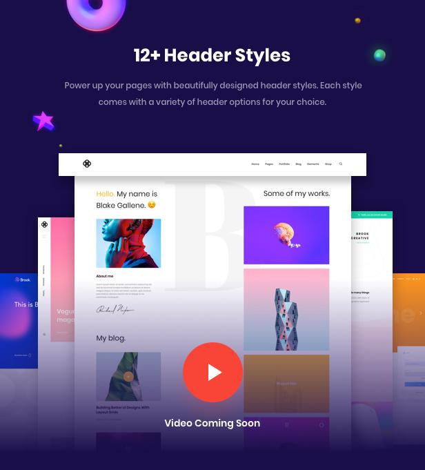 5 - Brook - Agency Business Creative WordPress Theme
