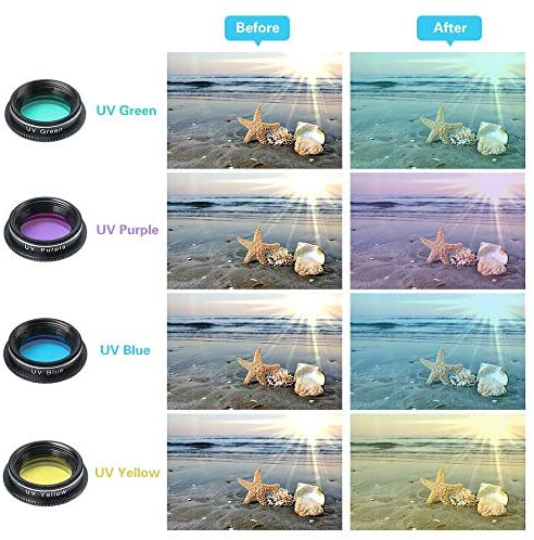 51E ptZZJYL. AC  - Godefa Phone Camera Lens Kit, 14 in 1 Lenses with Selfie Ring Light for iPhone 12, 11, Xs, Xr,8 7 6s Plus, Samsung and Other Andriod Smartphone, Universal Clip on Wide Angle+Macro+ Zoom Camera Lenses