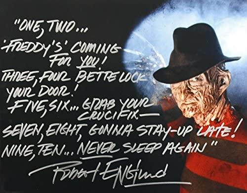 51JdbdNvOYL. AC  - Robert Englund as Freddy Krueger reprint signed autographed 11x14 poster photo #4 RP