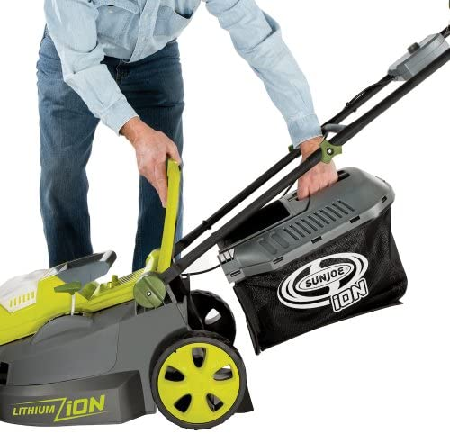 51Zzxc1w+tL. AC  - Sun Joe ION16LMCT iON16LM-CT 40-Volt 4.0-Amp 16-Inch Brushless Cordless Lawn Mower, Tool Only