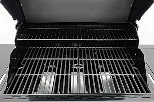 51a7o1ojtEL. AC  - Kenmore PG-40406SOL-1-AM 4 Open Cart Grill with Side Burner, Black