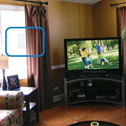 51k39h1T3PL. AC  - Winegard FL-55YR FlatWave Amplified Razor Thin HDTV Indoor Antenna (Renewed)