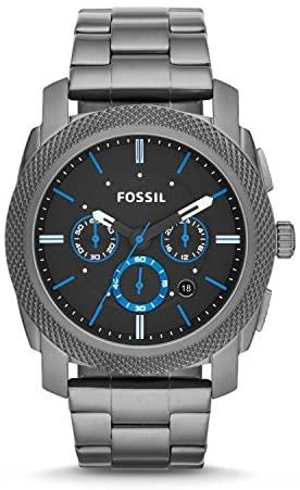 51lqCnmXj6L. AC  - Fossil Men's Machine Stainless Steel Quartz Chronograph Watch