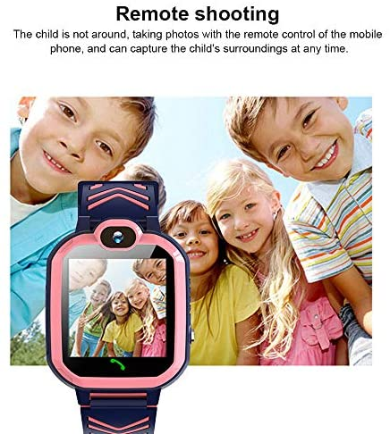 51qQVtyFv1L. AC  - Kids Waterproof Smart Watch Phone, GPS/LBS Tracker Smart Watch for Kids for 3-12 Year Old Compatible iOS Android Smart Watch Christmas Birthday Gifts for Kids(Excluding SIM Card)