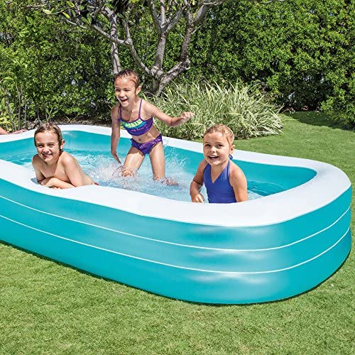 """611YXdY MsL. AC  - Intex Swim Center Family Inflatable Pool, 120"""" X 72"""" X 22"""", for Ages 6+"""
