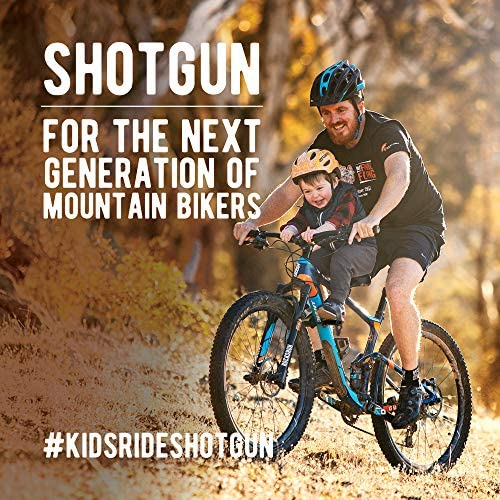 61Hfal0lgWL. AC  - SHOTGUN Kids Bike Seat for Mountain Bikes | Front Mounted Bicycle Seats for Children 2-5 Years (up to 48 Pound) | Compatible with All Adult MTB | Easy to Install
