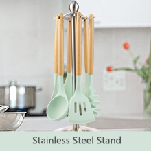 699863a1 7e9a 46e9 b0c3 04938a832931.  CR0,0,220,220 PT0 SX220 V1    - Silicone Kitchen Cooking Utensil Set, EAGMAK 16PCS Kitchen Utensils Spatula Set with Stainless Steel Stand for Nonstick Cookware, BPA Free Non-Toxic Cooking Utensils, Kitchen Tools Gift (Mint Green)