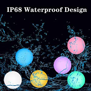 6ab431e7 f320 481c b93e 47f615b6ef2c.  CR0,0,1500,1500 PT0 SX300 V1    - FROQUII Floating Pool Lights, 16 Colors Pond LED Ball Lights with Remote Control, Waterproof Cordless Hot Tub Lights Kids Night Light Ball Lamp for Pool Garden Backyard Lawn Beach Party Decor (1pcs)