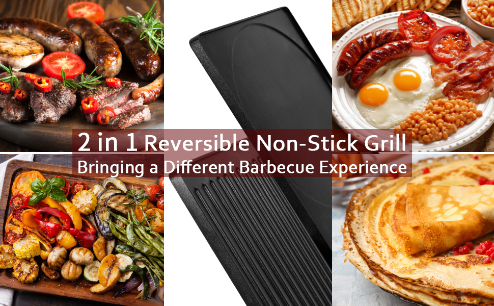 77a60acc 3d05 4dcf b5c5 876e8f476c4b.  CR0,0,970,600 PT0 SX970 V1    - CUSIMAX Raclette Grill Electric Grill Table, Portable 2 in 1 Korean BBQ Grill Indoor & Cheese Ractlette, Reversible Non-stick plate, Crepe Maker with Adjustable temperature control and 8 Paddles