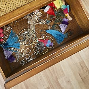 7af18d26 b190 477c 9bbb 8d16c9095e6f.  CR283,0,1130,1130 PT0 SX300 V1    - Rustic Jewelry Organizer with Bracelet Rod Wall Mounted - Wooden Wall Mount Holder for Earrings, Necklaces, Bracelets, and Many Other Accessories SoCal Buttercup