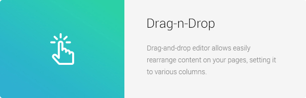 Drag n Drop - Eco Nature - Environment & Ecology WordPress Theme