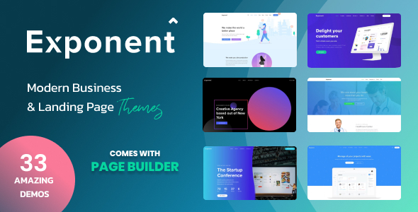 Exponent Cover Revisied v3Batch 2 variants 1.  large preview - Exponent - Modern Multi-Purpose Business WordPress theme