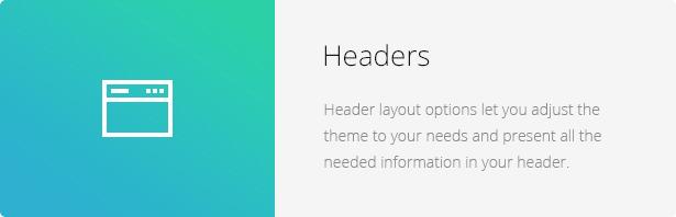Headers - Eco Nature - Environment & Ecology WordPress Theme