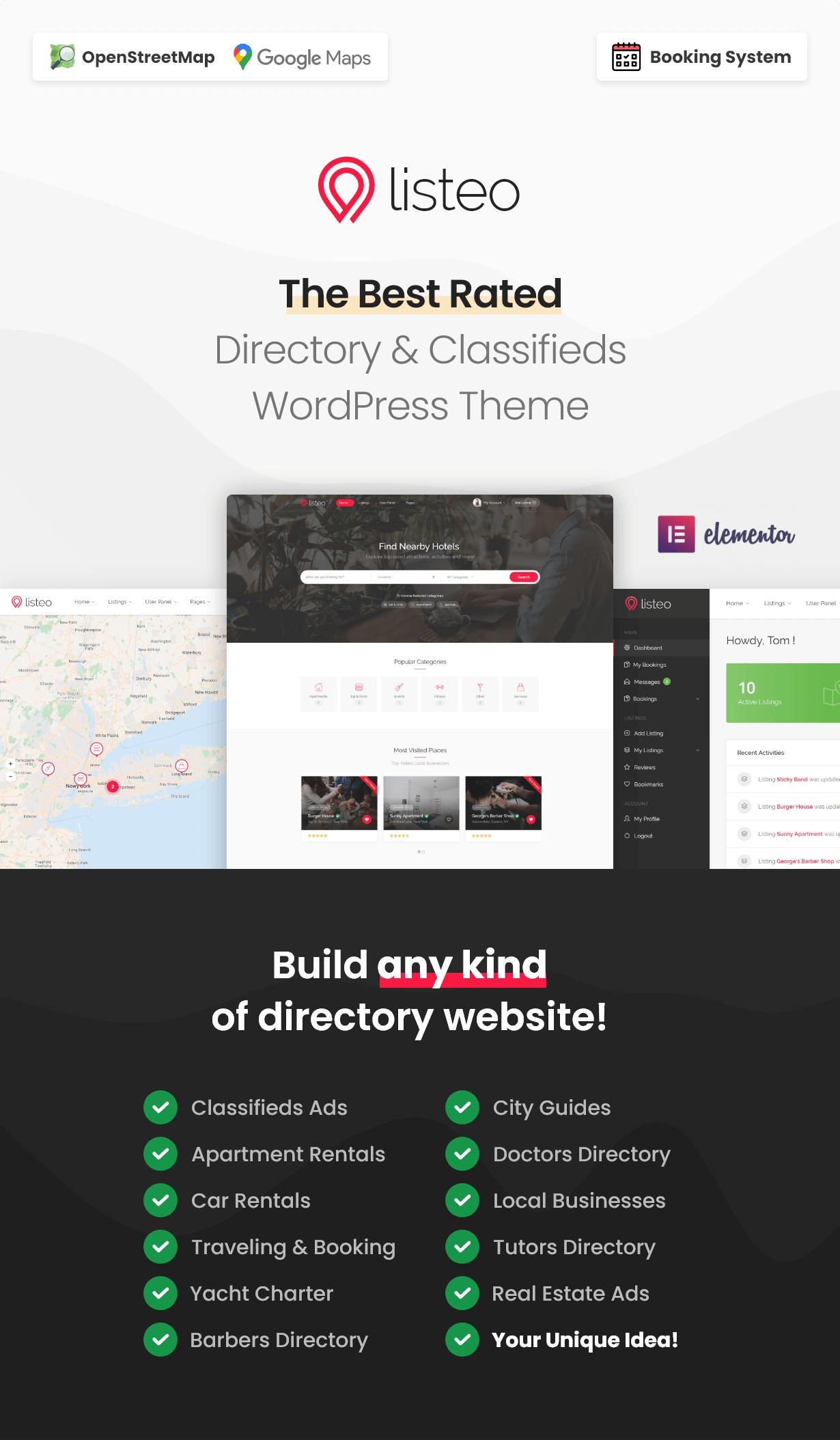 IbdXSAy - Listeo - Directory & Listings With Booking - WordPress Theme