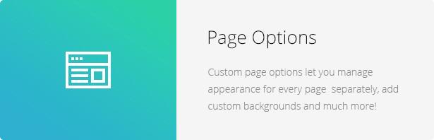 Page Options - Eco Nature - Environment & Ecology WordPress Theme