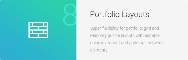 Portfolio Layouts - Eco Nature - Environment & Ecology WordPress Theme