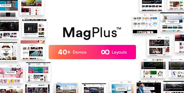 Preview Img.  large preview - MagPlus - Blog, Magazine Elementor WordPress Theme