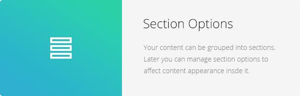 Section Options - Eco Nature - Environment & Ecology WordPress Theme