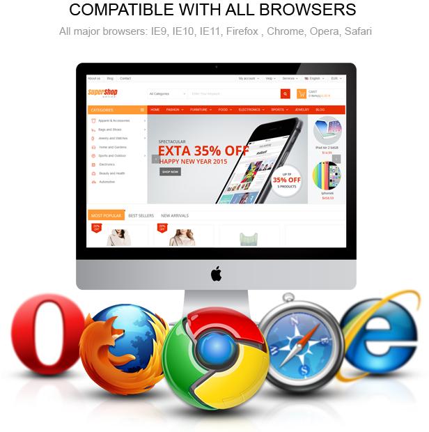 all browsers - SuperShop – Responsive Prestashop 1.6 & 1.7 Theme