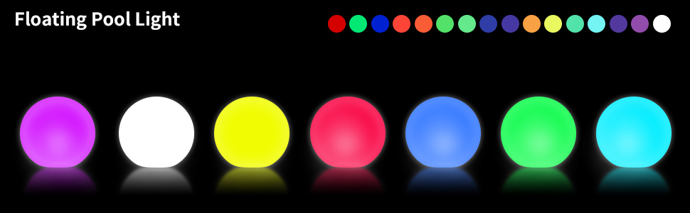 bb0dfb72 5488 4648 9095 73c097dae0e6.  CR0,0,970,300 PT0 SX970 V1    - WHATOOK Floating Pool Lights: 6Pack 16 Color Changing Remote Led Ball Light IP68 Waterproof Bath Toys,Replaceable Battery Hot Tub Glow Night Lights for Swimming Pool,Garden,Wedding Decor