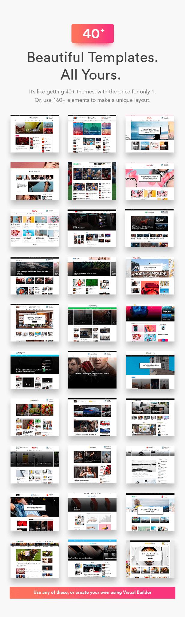 behance - MagPlus - Blog, Magazine Elementor WordPress Theme