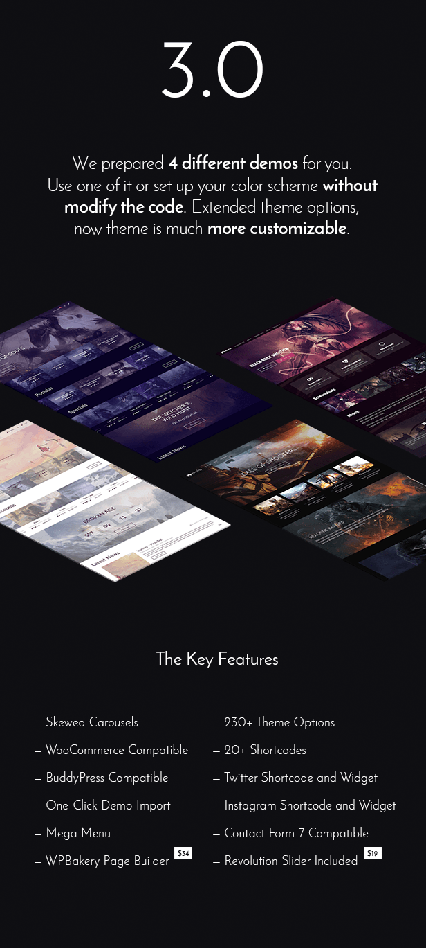 bigPreview wp - Youplay - Gaming WordPress Theme