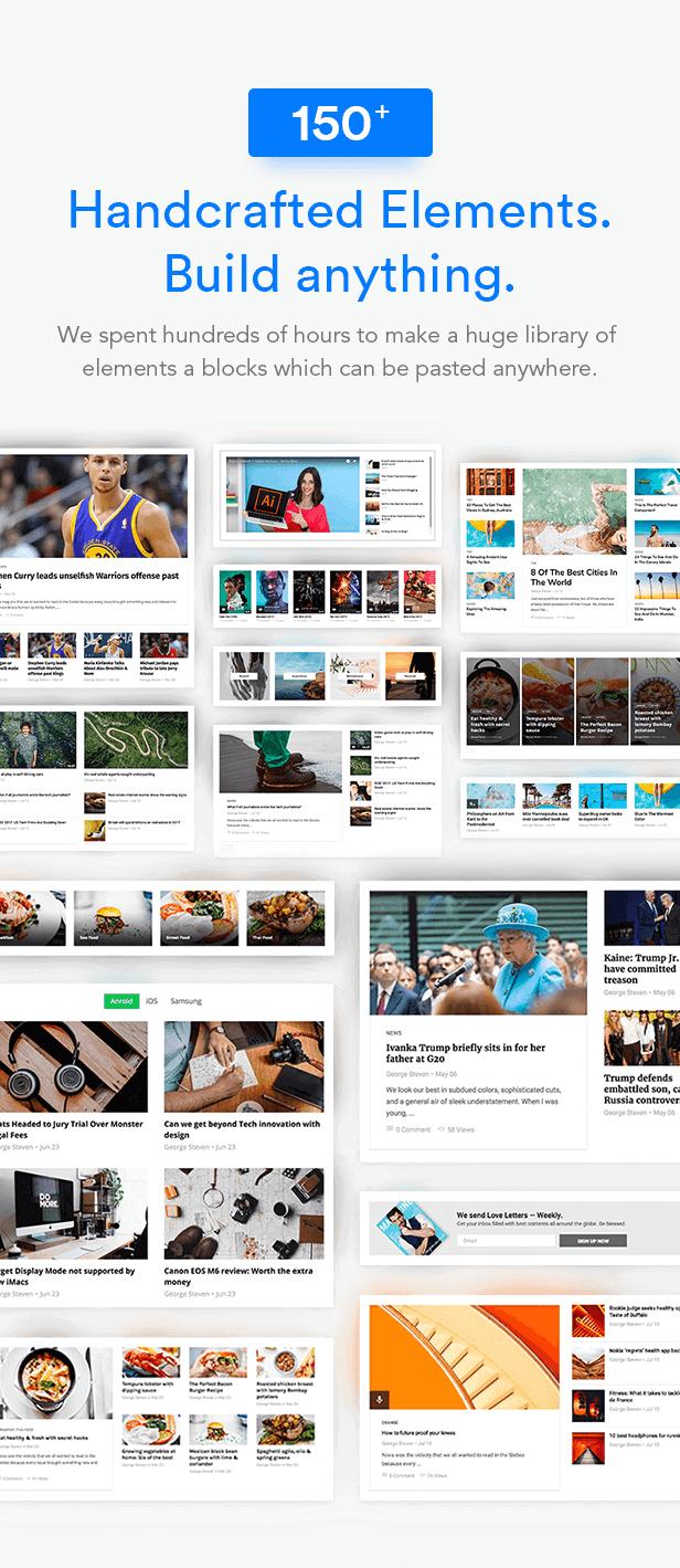 blocks - MagPlus - Blog, Magazine Elementor WordPress Theme