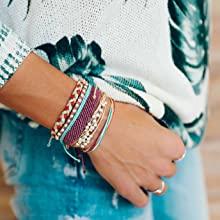 c3842354 1368 495f 9339 1ede7f174022. CR0,0,1378,1378 PT0 SX220   - Pura Vida Jewelry Bracelets - 100% Waterproof and Handmade w/Coated Charm, Adjustable Band