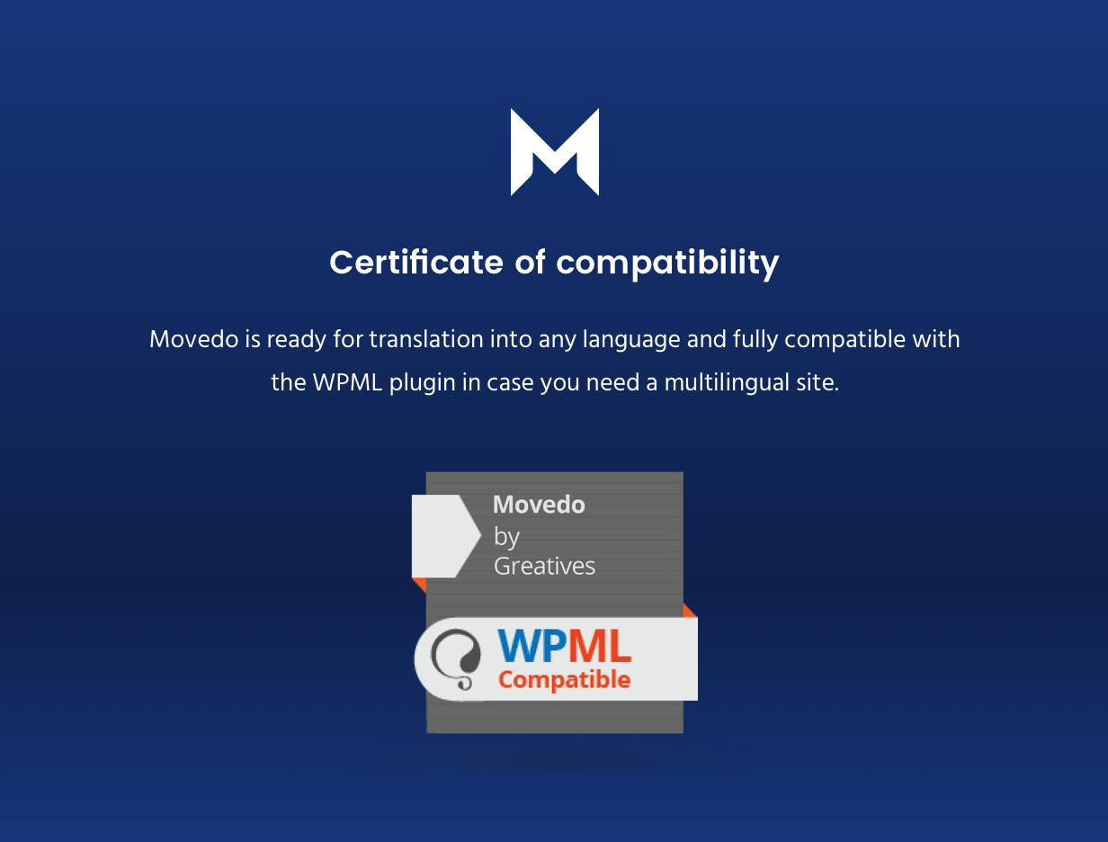 certificate wpml - Movedo - Responsive Multi-Purpose WordPress Theme