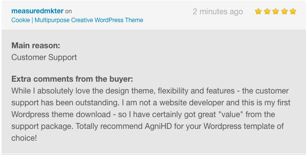 comment cookie wp 10 - Cookie | Multipurpose Creative WordPress Theme
