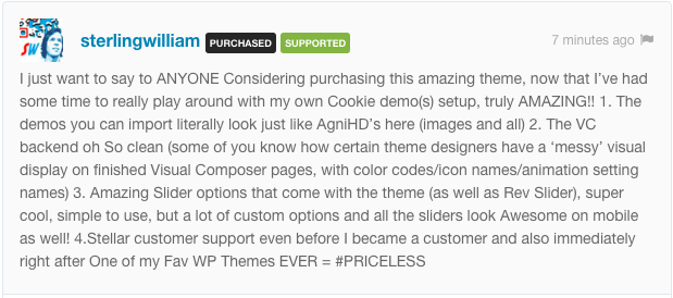 comment cookie wp 4 1 - Cookie | Multipurpose Creative WordPress Theme