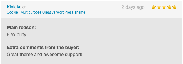 comment cookie wp 7 - Cookie | Multipurpose Creative WordPress Theme
