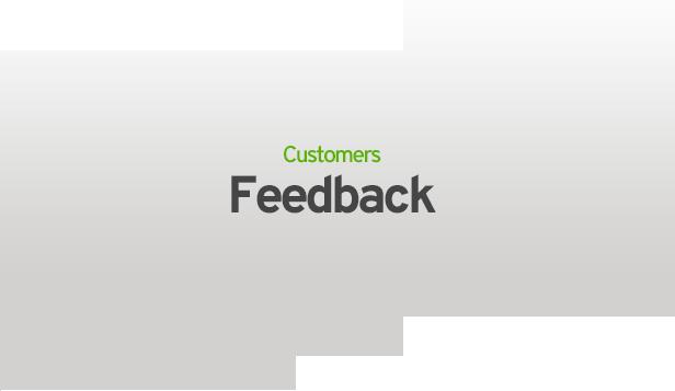 customers feedback - MediaCenter - Electronics Store WooCommerce Theme
