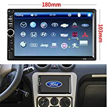 d1057c93 c0e6 4bc8 adf2 e15d50c59661.  CR0,0,275,275 PT0 SX220 V1    - Car Stereo 2 Din,7 inch Touch Screen MP5/MP4/MP3 Multimedia Player,Bluetooth Audio,Car Stereo Receivers,FM Radio,USB/SD/AUX Input,Mirror Link,Support Steering Wheel Remote Control,Rear View Camera