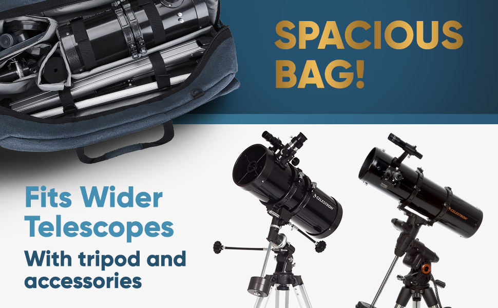 d30e9224 e758 4b98 bf6c c8eeb2a7a215.  CR0,0,970,600 PT0 SX970 V1    - Multipurpose Telescope Case - Fits Most Telescopes - 30x11.5X10 inch - Smart Phone Adapter Included