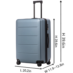 d6ab86d8 b9b9 48de b0b6 bb77faa73fe8. CR0,0,300,300 PT0 SX300   - COOLIFE Luggage Suitcase Piece Set Carry On ABS+PC Spinner Trolley with pocket Compartmnet Weekend Bag (Sakura pink, 20in(carry on))