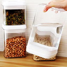 d6ed9d93 6118 449c 80ee 1163b892442a. CR0,0,220,220 PT0 SX220   - Airtight Food Storage Containers, Vtopmart 7 Pieces BPA Free Plastic Cereal Containers with Easy Lock Lids, for Kitchen Pantry Organization and Storage, Include 24 Labels
