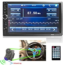 d96138e8 4018 48ed bba2 9317b8cf28e8.  CR0,0,275,275 PT0 SX220 V1    - Car Stereo 2 Din,7 inch Touch Screen MP5/MP4/MP3 Multimedia Player,Bluetooth Audio,Car Stereo Receivers,FM Radio,USB/SD/AUX Input,Mirror Link,Support Steering Wheel Remote Control,Rear View Camera