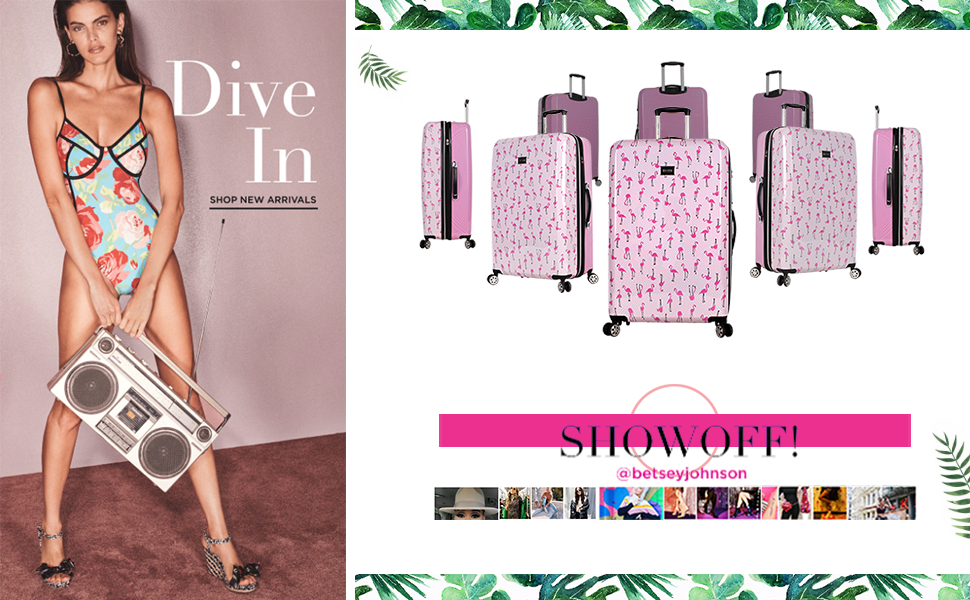 e94701ad 04bf 4a42 8b7c 3f59085b6abe.  CR0,0,970,600 PT0 SX970 V1    - Betsey Johnson Designer 20 Inch Carry On - Expandable (ABS + PC) Hardside Luggage - Lightweight Durable Suitcase With 8-Rolling Spinner Wheels for Women (Covered Roses)