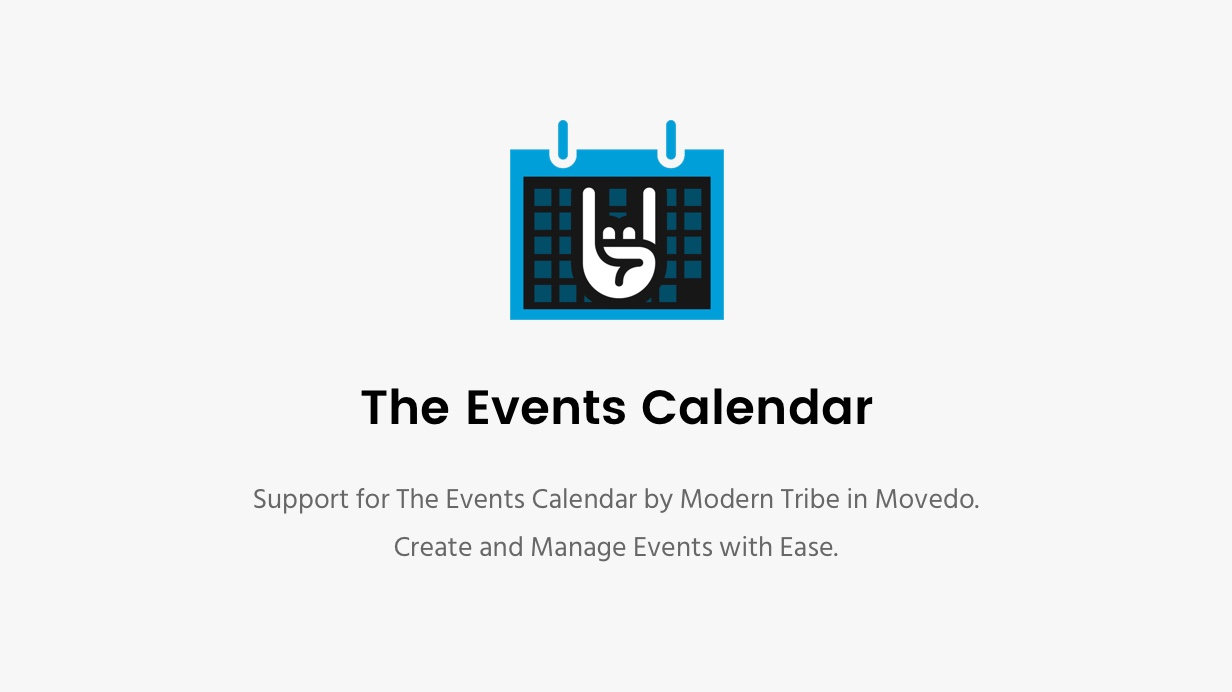 events calendar - Movedo - Responsive Multi-Purpose WordPress Theme