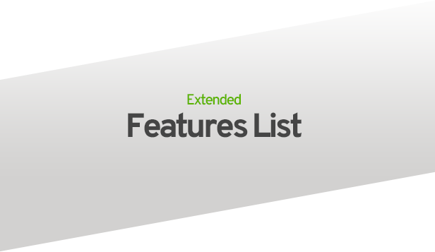 extended features list - MediaCenter - Electronics Store WooCommerce Theme
