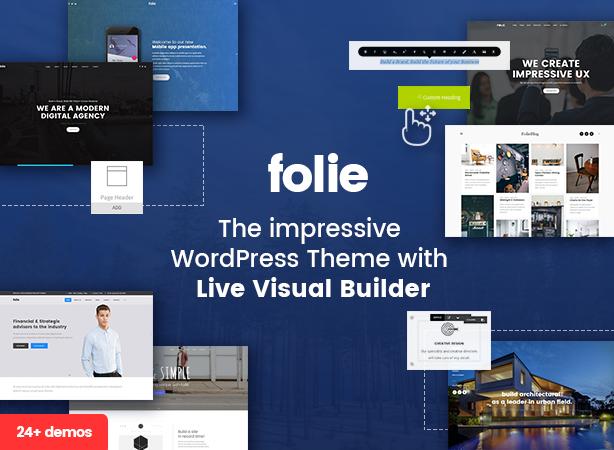 folie banner - Folie | Creative Multi-Purpose Theme