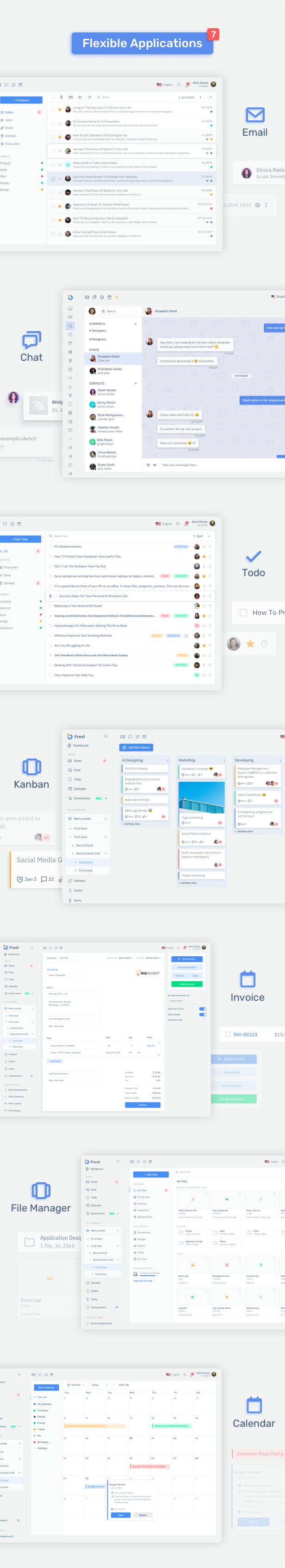 frjQmUK - Frest – Admin Dashboard UI Kit Sketch Template
